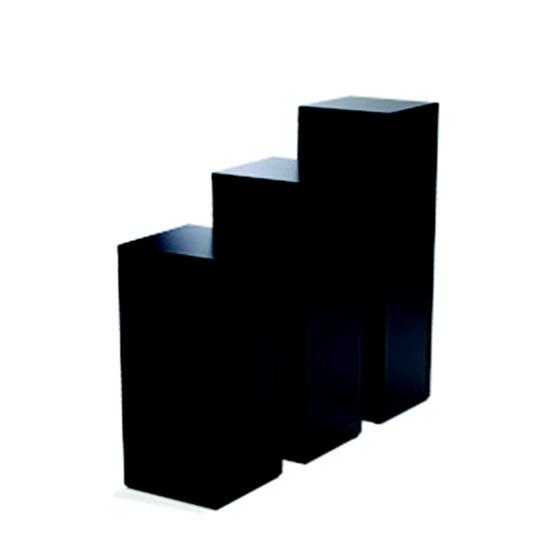 Display Pedestal 42″ Black 24″ Sq.